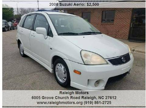 2006 Suzuki Aerio for sale in Raleigh, NC