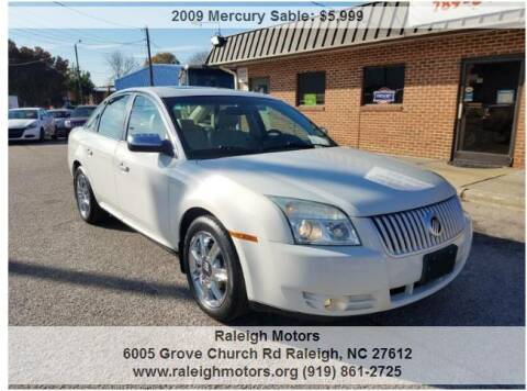 2009 Mercury Sable for sale at Raleigh Motors in Raleigh NC