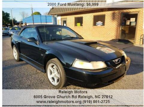 2000 Ford Mustang for sale at Raleigh Motors in Raleigh NC