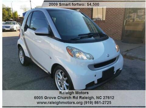 2009 Smart fortwo for sale at Raleigh Motors in Raleigh NC