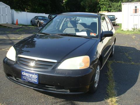 2002 Honda Civic for sale in Keyport, NJ
