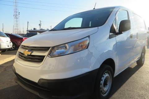 2015 Chevrolet City Express Cargo for sale at Eddie Auto Brokers in Willowick OH