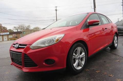 2013 Ford Focus for sale at Eddie Auto Brokers in Willowick OH