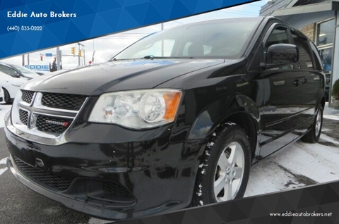 2013 Dodge Grand Caravan for sale at Eddie Auto Brokers in Willowick OH