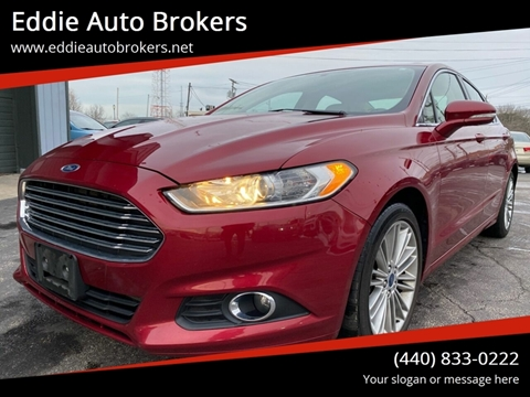 2014 Ford Fusion for sale at Eddie Auto Brokers in Willowick OH