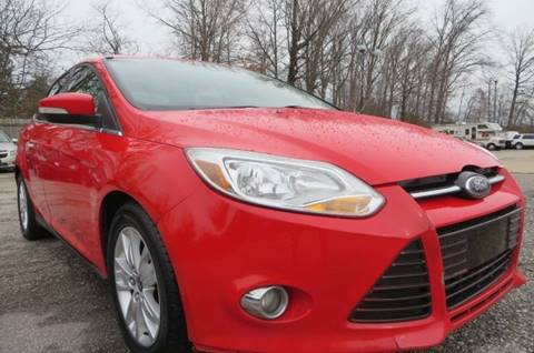 2012 Ford Focus SEL for sale at Eddie Auto Brokers in Willowick OH