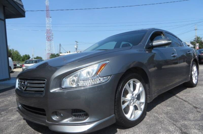 2014 Nissan Maxima for sale at Eddie Auto Brokers in Willowick OH