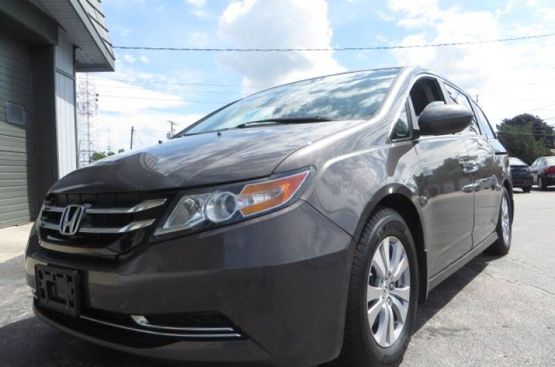 2015 Honda Odyssey for sale at Eddie Auto Brokers in Willowick OH