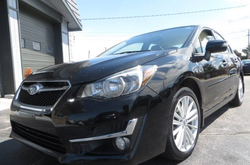 2015 Subaru Impreza for sale at Eddie Auto Brokers in Willowick OH