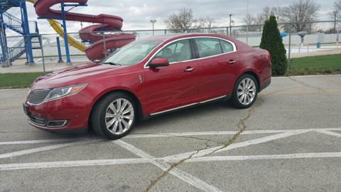 2013 Lincoln MKS for sale at Clarks Auto Sales in Connersville IN