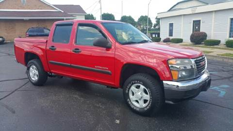 2005 GMC Canyon for sale at Clarks Auto Sales in Connersville IN