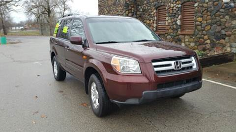 2008 Honda Pilot for sale at Clarks Auto Sales in Connersville IN