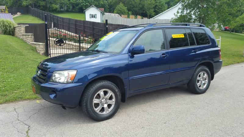 2006 Toyota Highlander 4dr SUV V6 w/3rd Row In Connersville IN ...