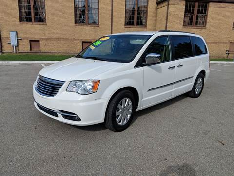 2012 Chrysler Town and Country for sale at Clarks Auto Sales in Connersville IN