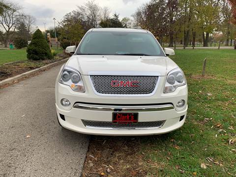 2011 GMC Acadia for sale at Clarks Auto Sales in Connersville IN