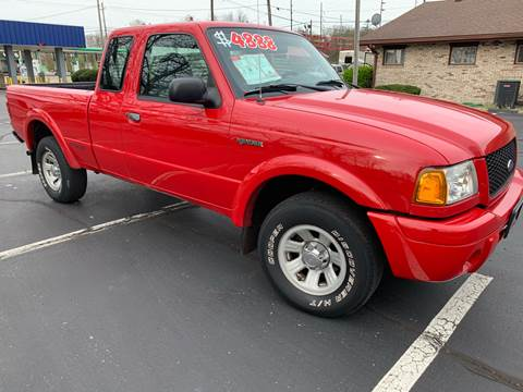 2002 Ford Ranger for sale at Clarks Auto Sales in Connersville IN