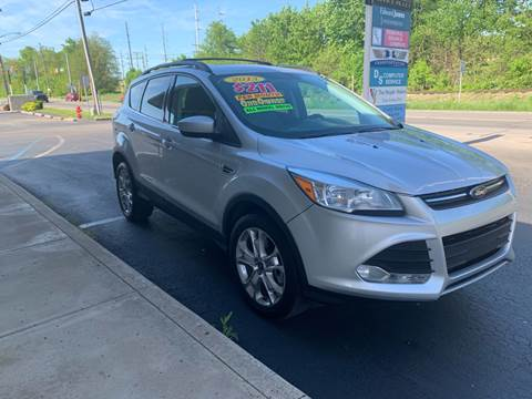2013 Ford Escape for sale at Clarks Auto Sales in Connersville IN