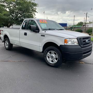 2008 Ford F-150 for sale at Clarks Auto Sales in Connersville IN