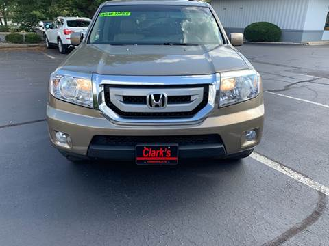 2009 Honda Pilot for sale at Clarks Auto Sales in Connersville IN