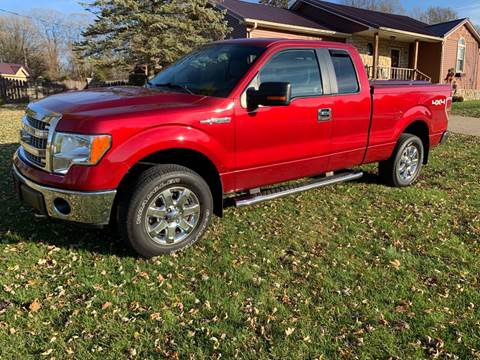 2013 Ford F-150 for sale at Clarks Auto Sales in Connersville IN