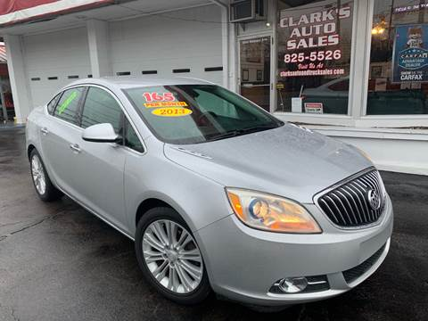 2013 Buick Verano for sale at Clarks Auto Sales in Connersville IN