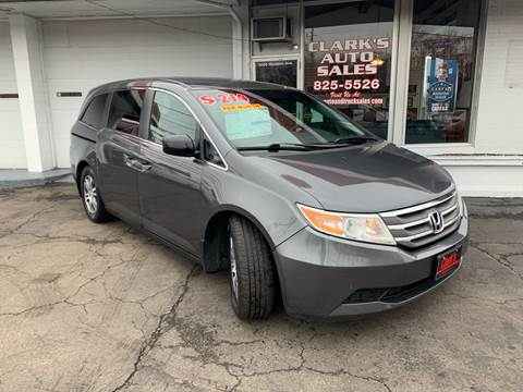 2011 Honda Odyssey for sale at Clarks Auto Sales in Connersville IN