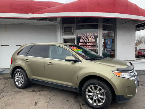 2013 Ford Edge Limited for sale at Clarks Auto Sales in Connersville IN
