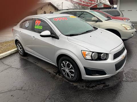 2015 Chevrolet Sonic LS Manual for sale at Clarks Auto Sales in Connersville IN