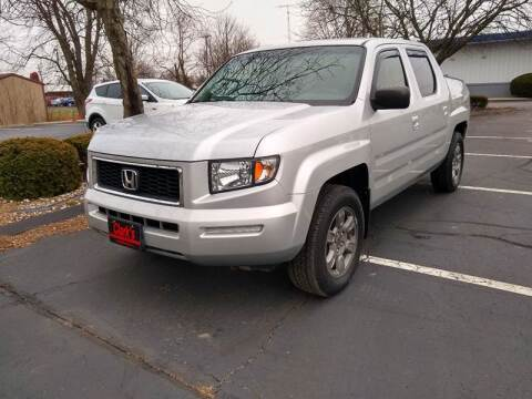 2007 Honda Ridgeline RTX for sale at Clarks Auto Sales in Connersville IN