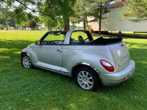 2007 Chrysler PT Cruiser for sale at Clarks Auto Sales in Connersville IN