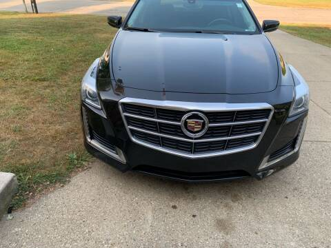 2014 Cadillac CTS for sale at Clarks Auto Sales in Connersville IN