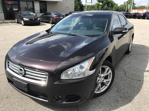 2014 Nissan Maxima for sale at Capital City Imports in Tallahassee FL
