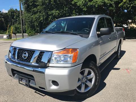 2013 Nissan Titan for sale at Capital City Imports in Tallahassee FL