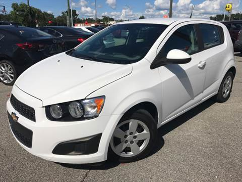 2013 Chevrolet Sonic for sale at Capital City Imports in Tallahassee FL