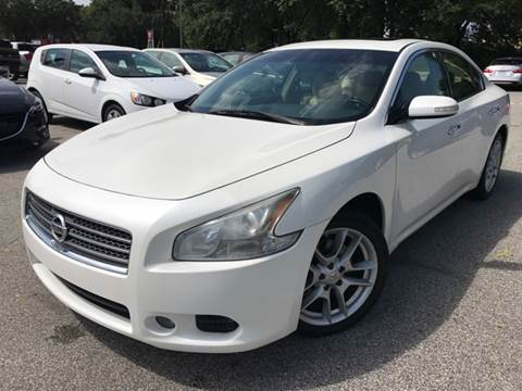 2010 Nissan Maxima for sale at Capital City Imports in Tallahassee FL