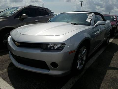 2014 Chevrolet Camaro for sale at Capital City Imports in Tallahassee FL