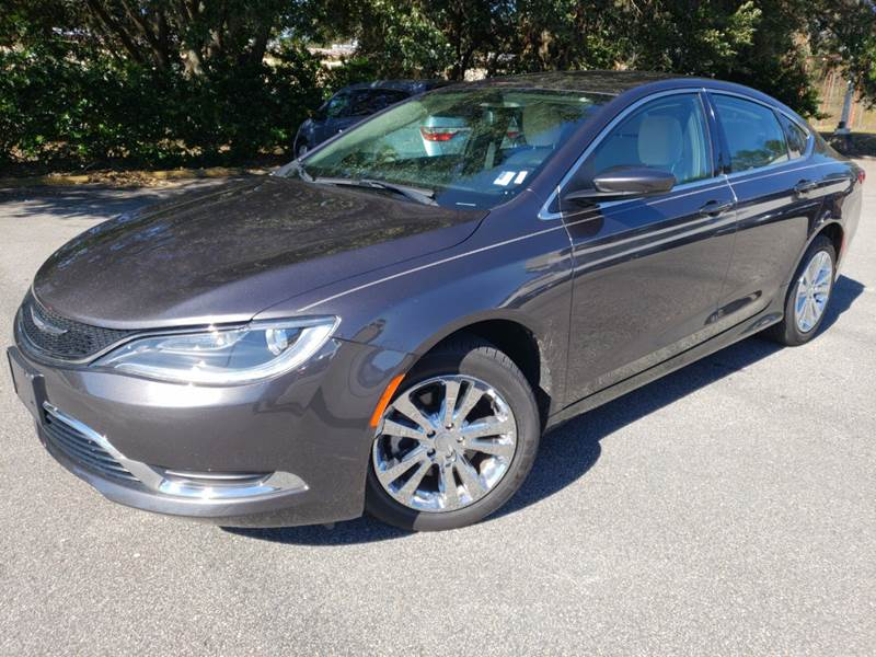 2016 Chrysler 200 for sale at Capital City Imports in Tallahassee FL
