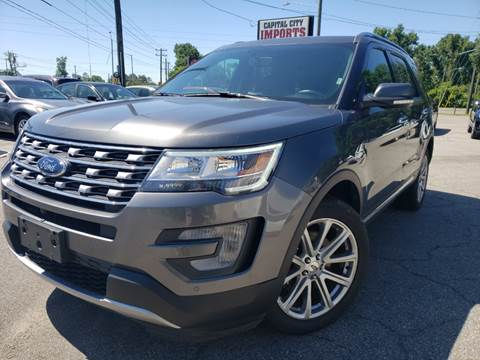 2017 Ford Explorer for sale at Capital City Imports in Tallahassee FL