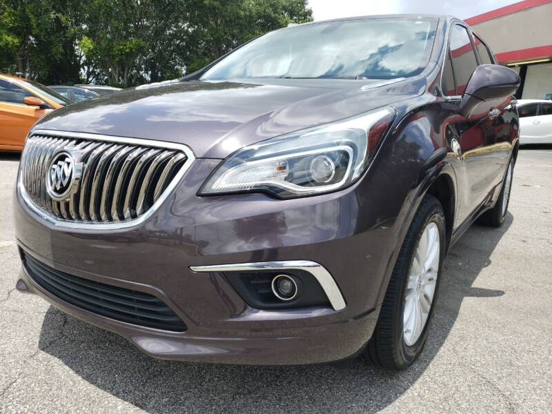 2017 Buick Envision for sale at Capital City Imports in Tallahassee FL