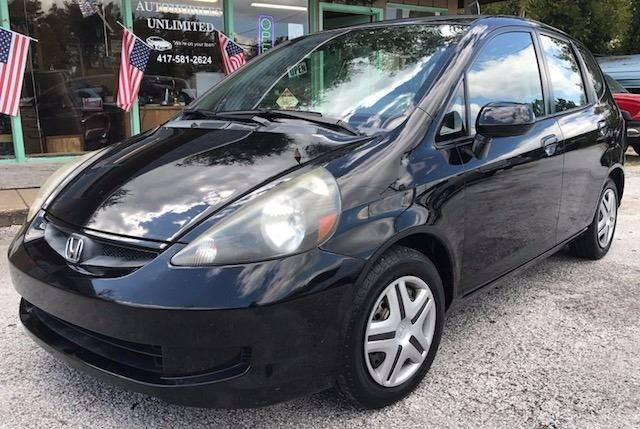 2007 Honda Fit for sale at Automobiles Unlimited in Ozark MO