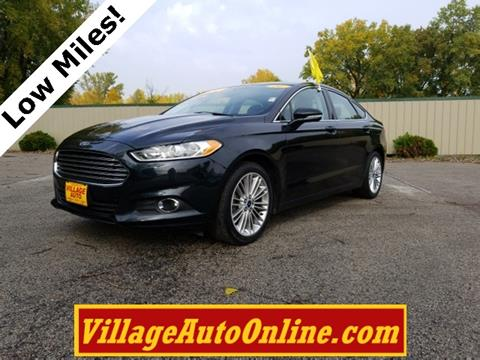 2014 Ford Fusion for sale in Oconto, WI