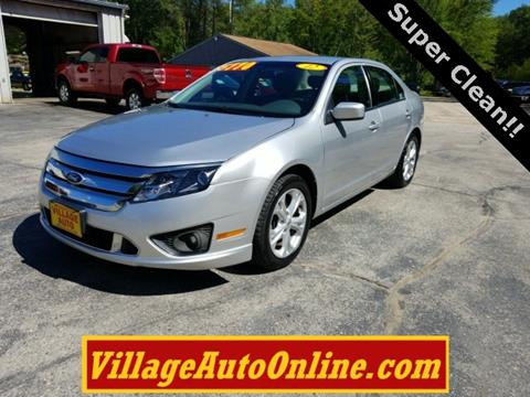 2012 Ford Fusion for sale in Oconto, WI
