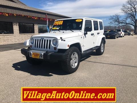 2011 Jeep Wrangler Unlimited for sale in Green Bay, WI