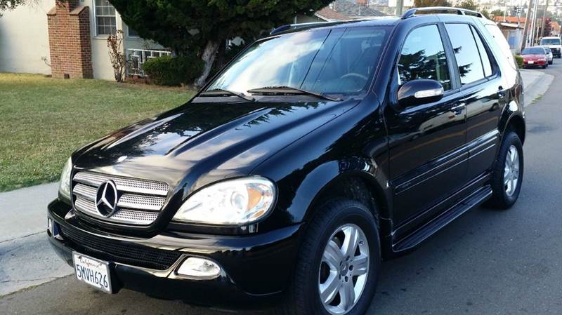 2005 mercedes benz m class awd ml350 4matic 4dr suv in san for 2005 mercedes benz ml350 review