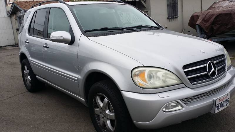 2004 mercedes benz m class awd ml500 4matic 4dr suv in san for 2004 mercedes benz ml350 4matic