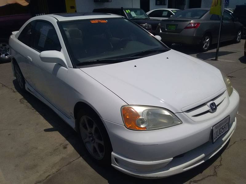 2001 Honda Civic EX 2dr Coupe - Los Angeles CA