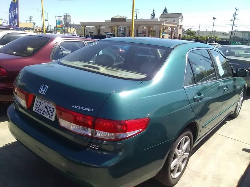 2003 Honda Accord EX V-6 4dr Sedan - Los Angeles CA