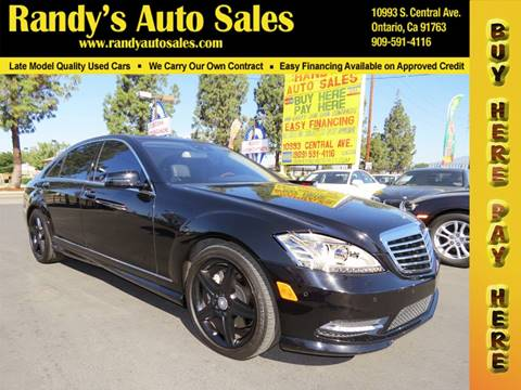 2010 Mercedes-Benz S-Class for sale in Ontario, CA