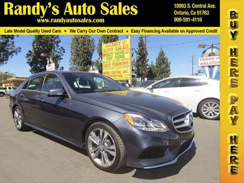 Mercedes benz e class for sale in ontario ca for Mercedes benz of ontario ontario ca