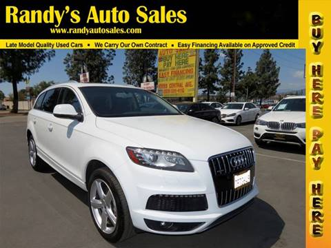 Audi Q For Sale In Ontario CA Carsforsalecom - Used cars for sale audi q7